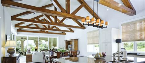 Living Kitchen Dining Open Floor Plan by Feature Truss Specialists Softwood Or Hardwood