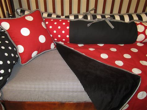 red and black crib bedding baby crib bedding 3 piece set black red white
