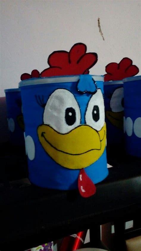 dulceros con latas de leche de frutillas dulcero de la gallina pintadita con bote de leche