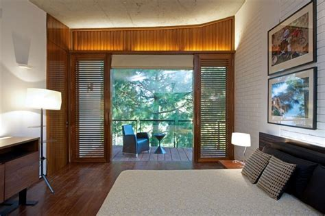 Bedroom Windows Designs Modern Bedroom With Large Windows Interior Design Ideas