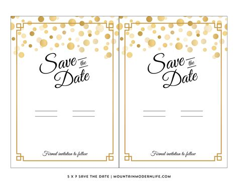 free wedding save the date templates template free templates save the date template save the