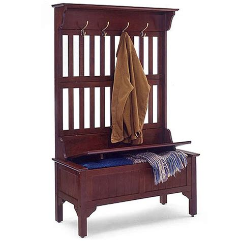 woodwork coat rack storage bench plans pdf plans