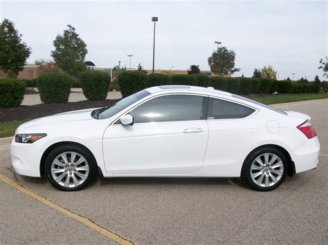 honda accord coupe for sale this is the only white 2008 honda accord coupe ex l for