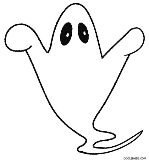 blank ghost coloring pages printable ghost coloring pages for kids cool2bkids
