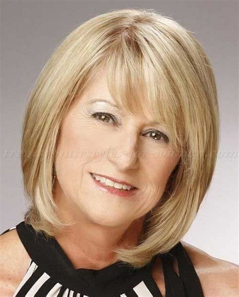 hair styles for the over 50s heavily layered into the neck shoulder length layered hair for older woman target