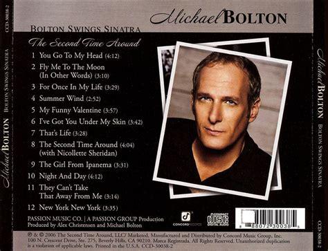 bolton swings sinatra michael bolton bolton swings sinatra cd opus3a