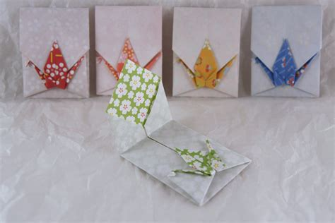 Origami Crane Card - west coast origami november 2009