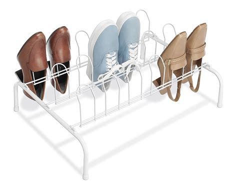 floor shoe storage beautiful shoe racks for home clean and