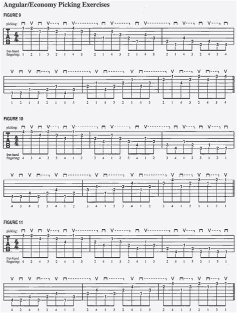 guitar picking mechanics techniques exercises for increasing your accuracy speed comfort book audio books guitar guitar tablature exercises guitar tablature