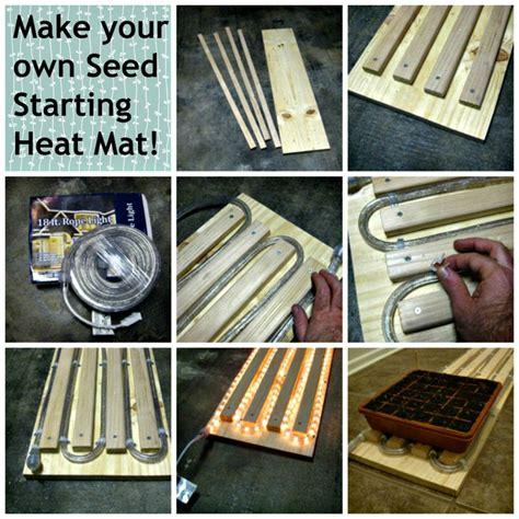 Seed Starter Mat by Make Your Own Seed Starting Heat Mat Diy Gardening