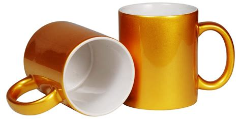 Mug Coating 081808029281 2 gold coated mug