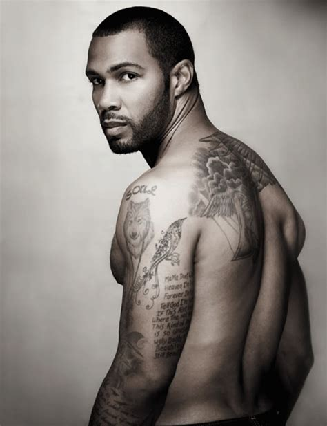 omari hardwick tattoos omari hardwick shirtless pics actor crush