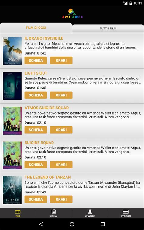 arcadia porte franche webtic arcadia cinema android apps on play