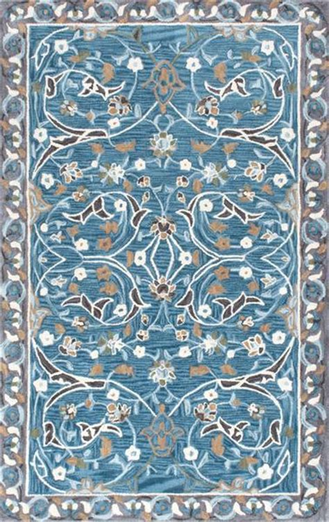 pattern blue carpet blue and gray swirl floral pattern rug
