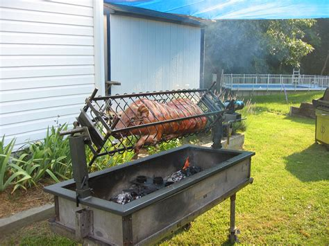 Image Gallery Outdoor Rotisserie