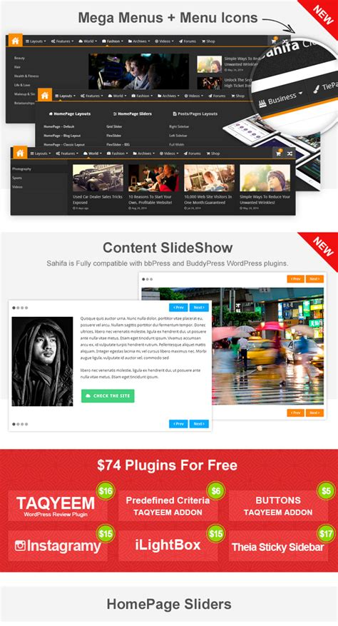 sahifa theme shortcodes sahifa responsive wordpress news magazine blog theme