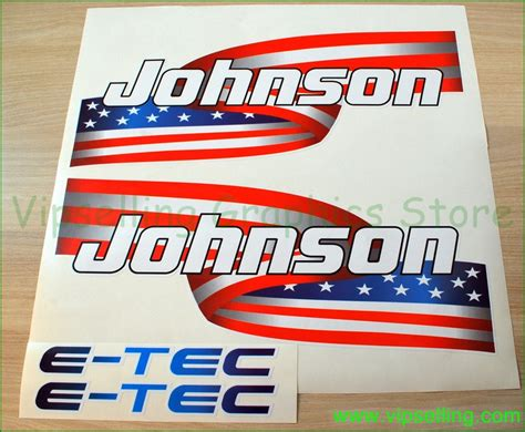 Decal Motor Yamaha X Ride American Flag johnson us flag outboards motor decals set look