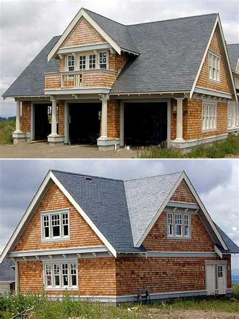 detached garage apartment plans double duty 3 car garage cottage w living quarters hq
