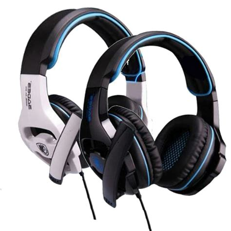 Headset Sades Usb sades gaming headphones usb wired gamer headset with light