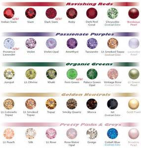 swarovski color chart swarovski color chart eureka