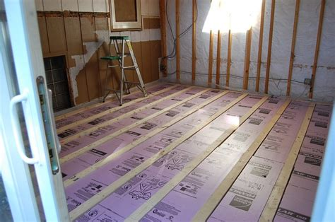basement sub flooring options basement floors beyond ca car forums community for