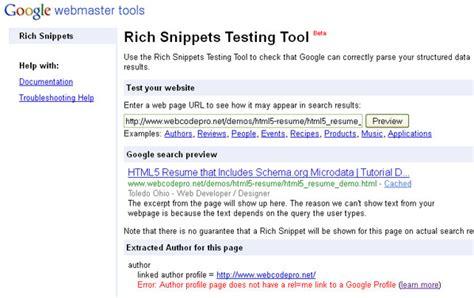 html tutorial resume html5 powered resume tutorial