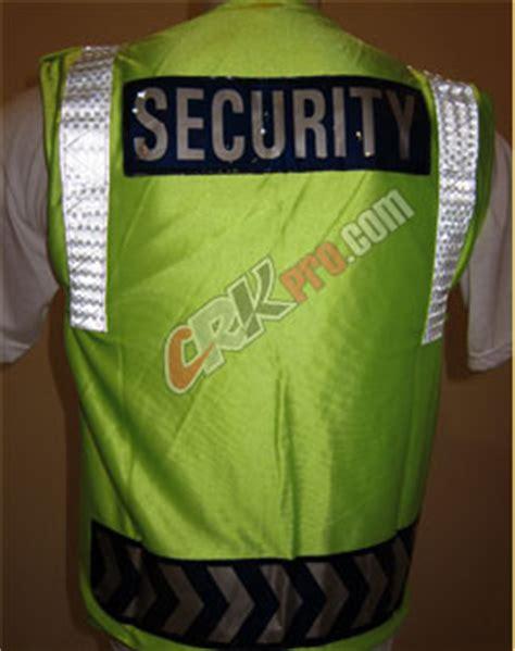 Rompi Scotlite Security All Size jual rompi polisi polri polantas satpam security reflektor penjahit konveksi rompi safety