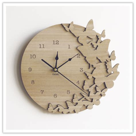 wooden clocks wooden clock what would it look like using different wood