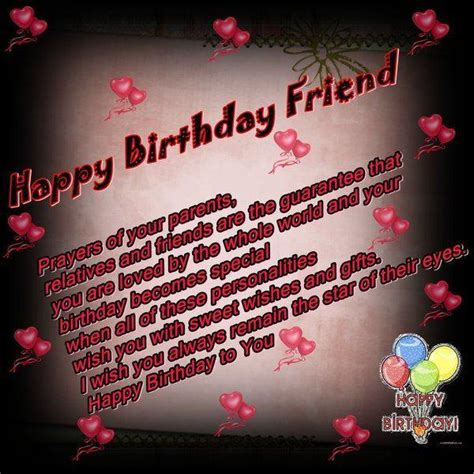 Happy Birthday Wishes For Lovely Friend 52 Best Birthday Wishes For Friend With Images