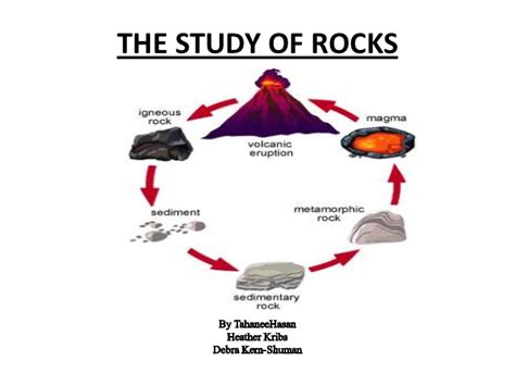 Section 3 1 The Rock Cycle by Science Rocks