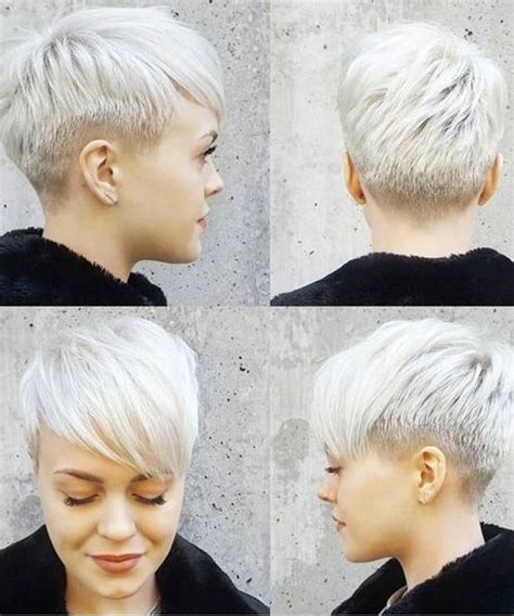 older women with platinum blonde pink hair short pixie haircuts for women best for older women
