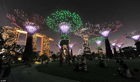 Solar Lights Singapore Puts Our Christmas Lights To Shame Mesmerising Forest Of