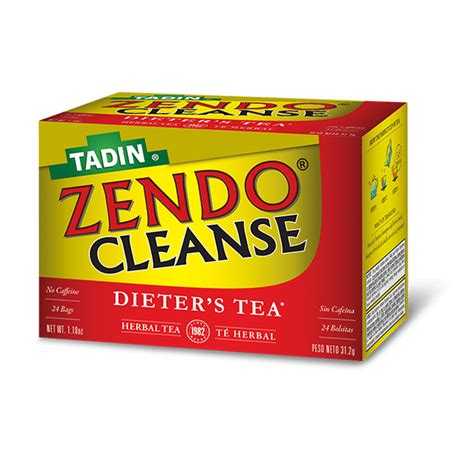 Te Tadin Detox by Zendo Cleanse Tadin Herb Tea Co