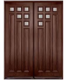 Sh Design Home Builders Solid Mahogany Front Door And Side Lights With Black Stain