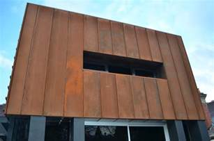 corten casette panel cladding exteriors pinterest corten steel cor ten and search