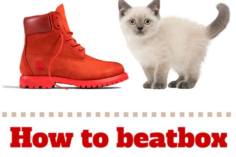 list pattern beatbox how to beatbox boots n cats and other simple sentences