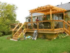 Small Pergola Plans by Small Deck Pergola Designs Home Design Ideas Decks