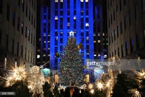 when are they lighting the tree at rockefeller center rockefeller center tree ストックフォトと画像 getty images