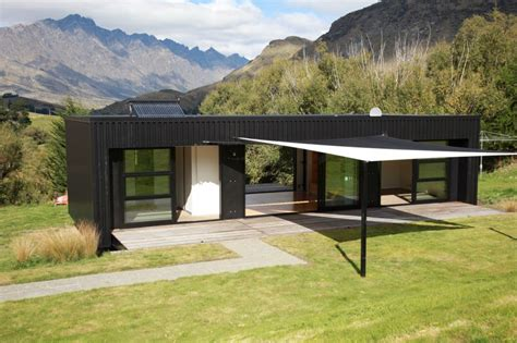 pre fab houses steel frame transportable prefab home by bachbox new zealand modern prefab modular