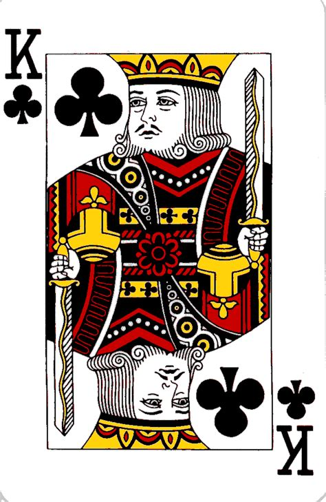 card blank template king of diamonds courts on cards