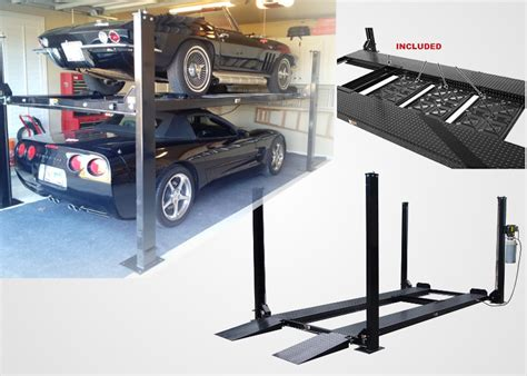 portable car lifts ideal for home garage 2017 fit stop