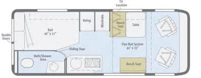 Rv Camper Floor Plans adventure finds a new home w 2015 winnebago travato