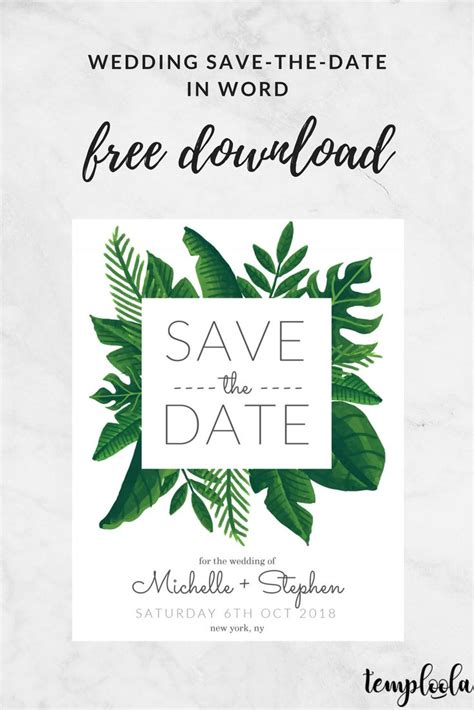 diy save the date cards templates best 25 save the date templates ideas on save