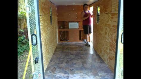 cargo trailer  camper diy youtube