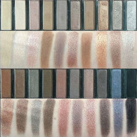 Coastal Scents Revealed Eyeshadow Palette swatches of the coastal scents revealed palette dupe for decay 1 and 2