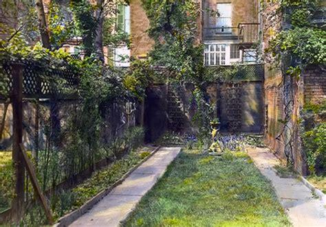 backyard city how to design a city garden photos victoriana magazine