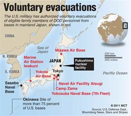 begins voluntary evacuation of families in japan