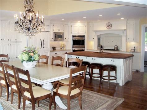 kitchen island with attached table kitchen island and