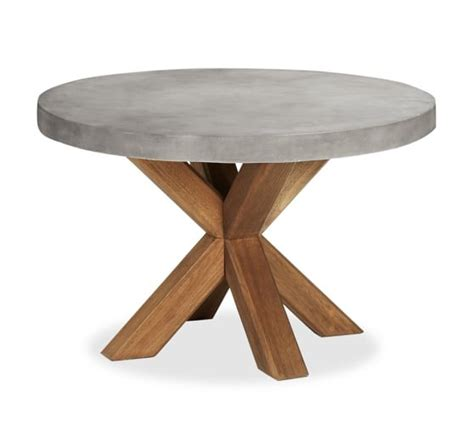 Contemporary Kitchen Dinette Sets - abbott round dining table amp huntington chair set pottery barn