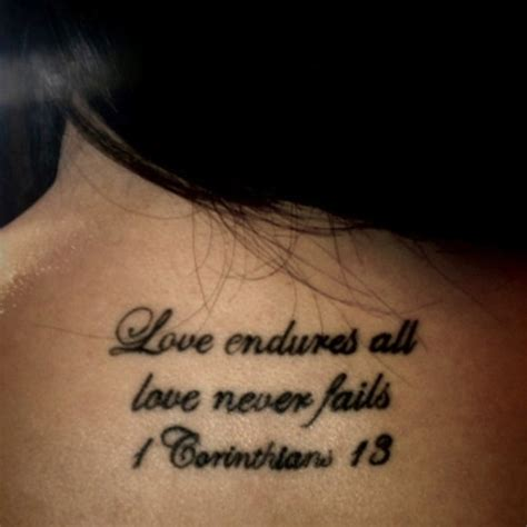 Marriage Bible Verses Tattoos by 25 Best Ideas About Corinthians On